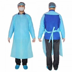 Single Use Isolation Gowns - Bag of 10